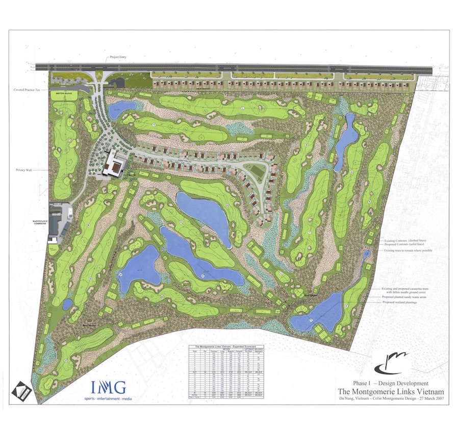 Montgomerie-Links-Masterplan